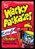 Wacky Packages first series pack