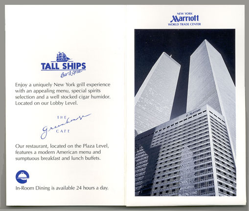Wtc Marriott Check In Card