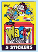 1991 Wacky Packages pack
