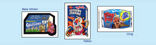 ANS1 base sticker 'Gravestones', 'Frosted Snakes' tattoo, 'Bling Pup' cling