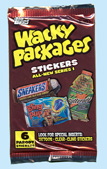 Wacky Packages All-New Series 1 pack
