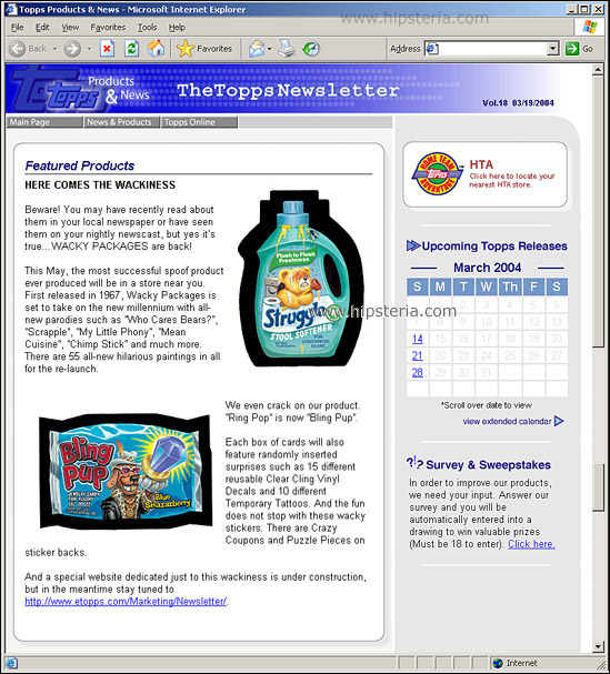 The Annotated Wacky Packages Ans1
