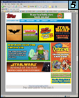 Topps Entertainment Page (click image to go to the page)