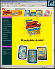 Topps' First Preview Web Page for ANS2 (click image to go to the page)