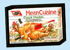 'Mean Cuisine'
